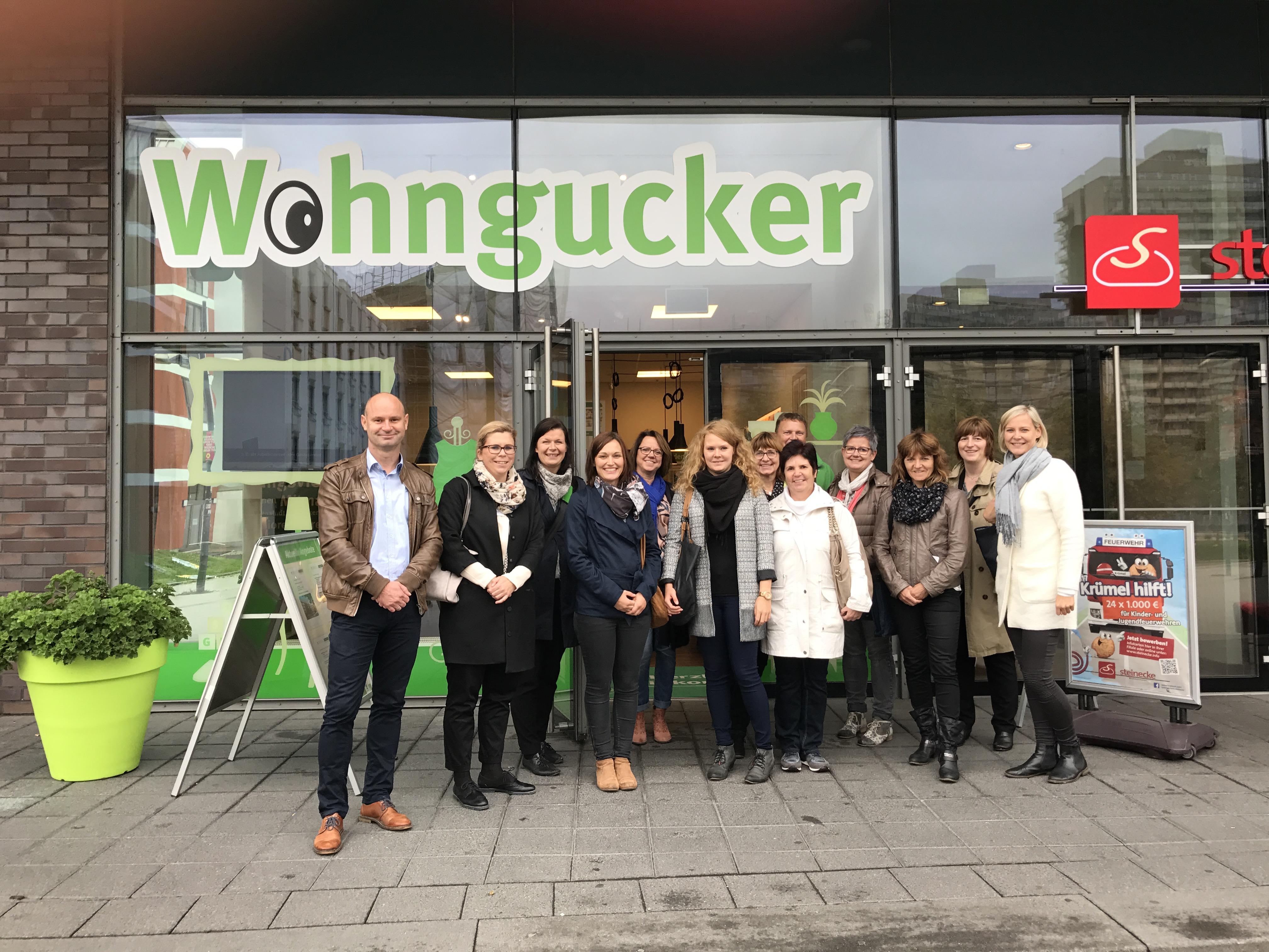 """AG """"Marketing"""" zu Gast bei der GWG Halle (Saale)"""