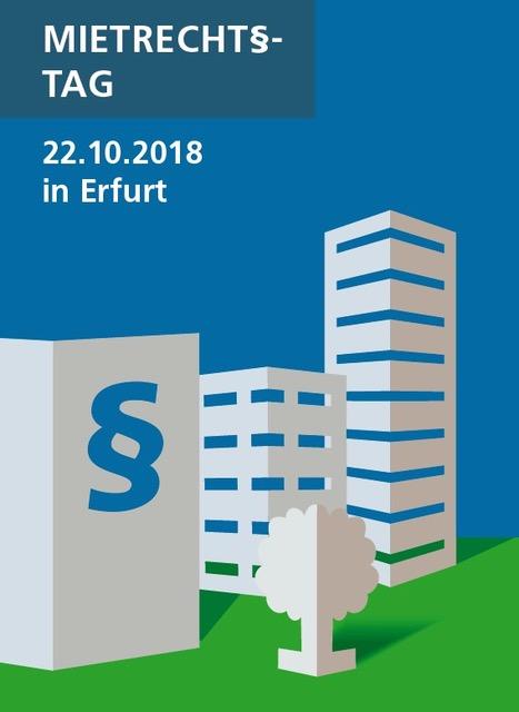 2. Mietrechtstag der Thüringer Wohnungswirtschaft