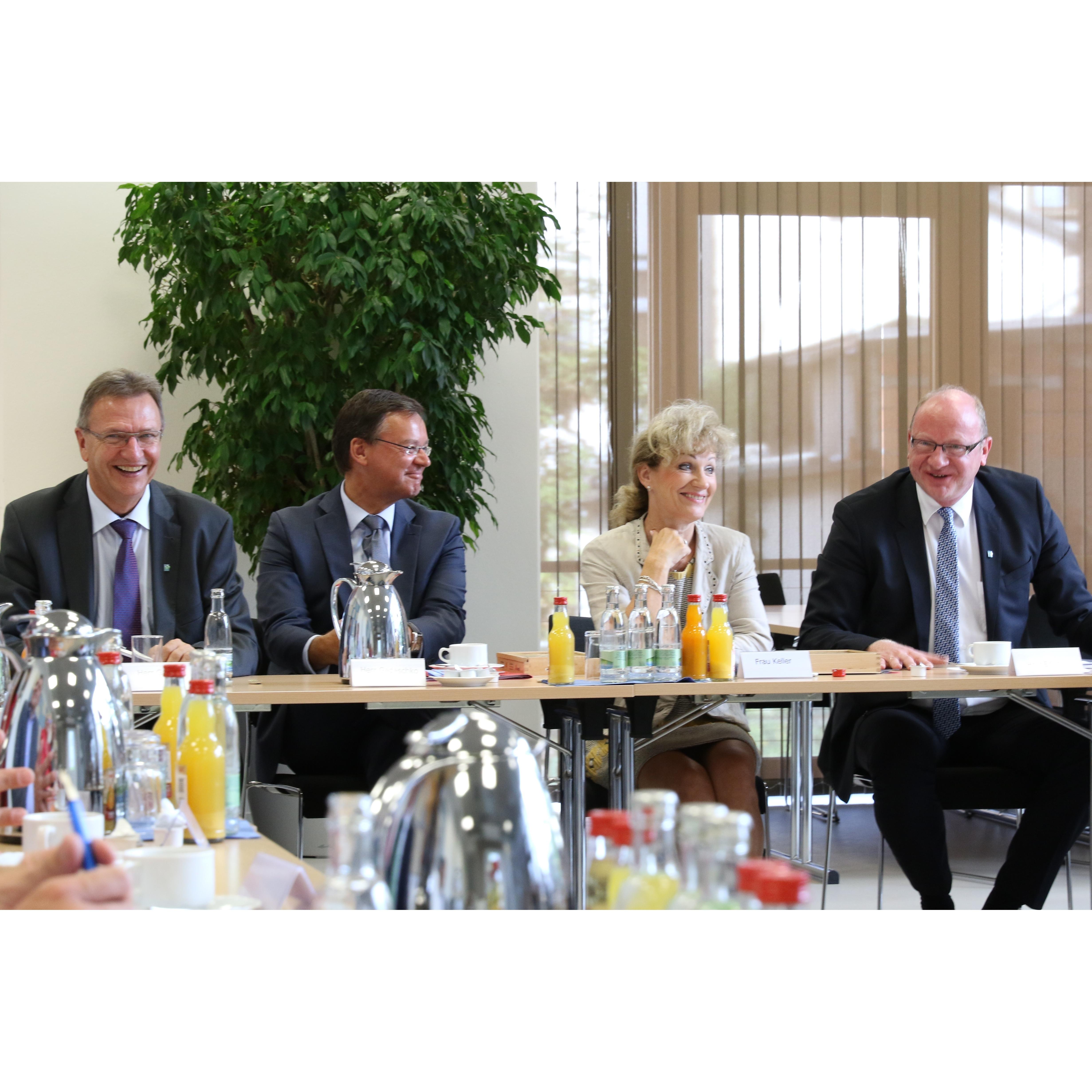 GdW-Präsident zu Besuch in Thüringen