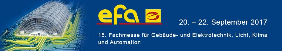 Elektrofachmesse efa: Bedeutende Branchenplattform für Gebäudetechnik