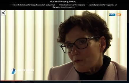 mdr-Interview mit Verbandsdirektorin Constanze Victor