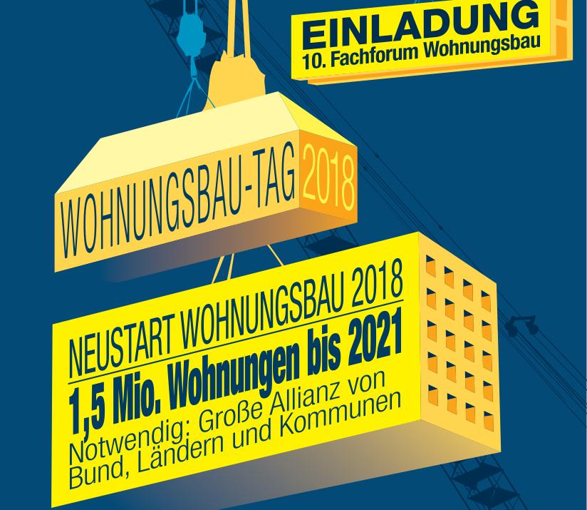 Wohnungsbau-Tag 2018