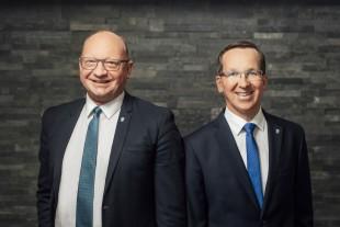 vtw Direktoren Jürgen Elfrich und Frank Emrich